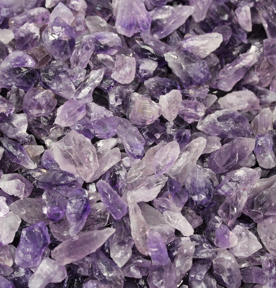 amethyst - crystal points