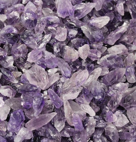 amethyst - crystal points