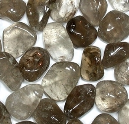 smokey quartz - tumbled